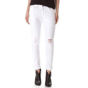 Rag & Bone Dash Distressed Slouchy Skinny Jeans